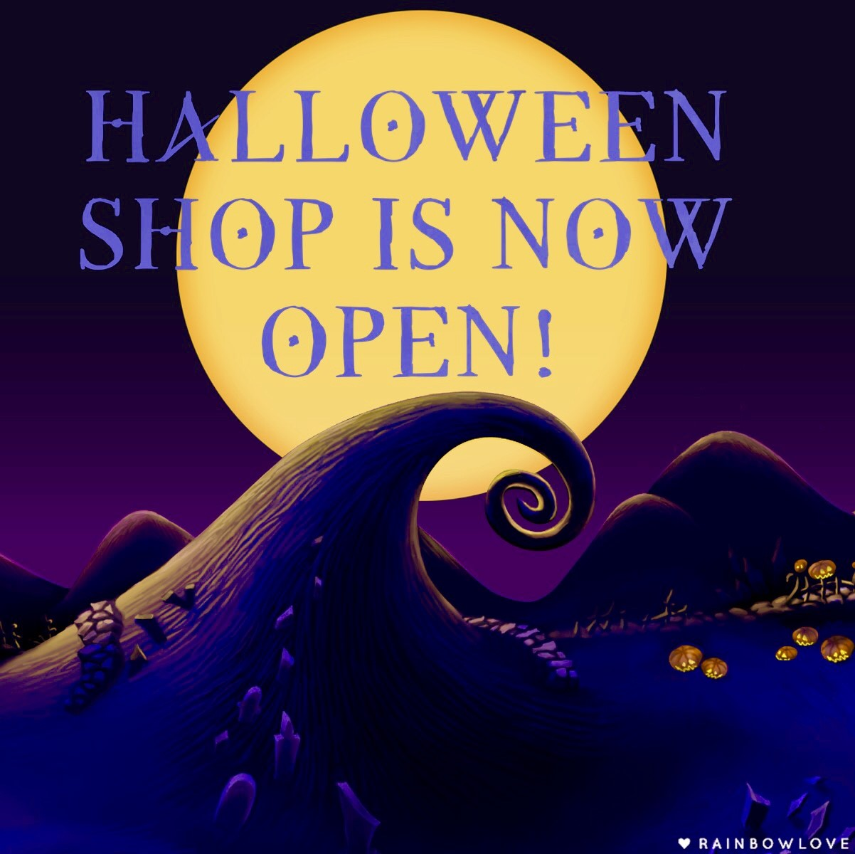 Halloween Shop Is Now Open at WildWonderlandStitch
