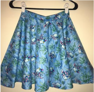 Rainbow Fish Skirt